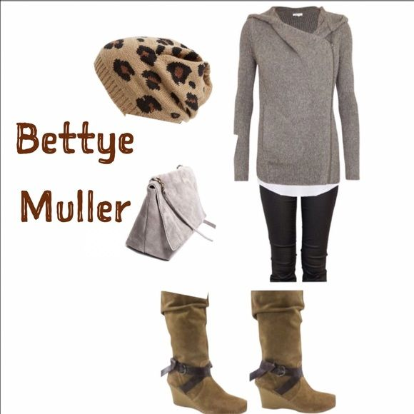 """NWOT Bettye Muller Suede Wedge Boots  ~ Step into STYLE with these NWOT Bettye Muller Suede Wedge Boots.   MSRP: $295.00 Size: 11/Euro 41 Runs SMALL!   Suede.  Mid calf.  Zipper closure.  Leather straps.   Heel: 3"""" inches Shaft Height: 9"""" inches  Top Opening: 14"""" inches  Thank you for looking.  Sorry, I do NOT TRADE ❌ or HOLD ❌ Price is currently FIRM. Bettye Muller Shoes"""