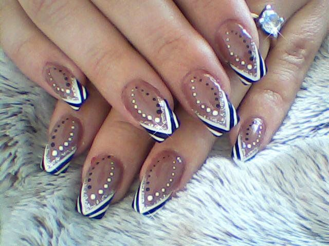 Stylish brown abstract tip nail art design for tutorial visit stylish brown abstract tip nail art design for tutorial visit my channel www prinsesfo Image collections