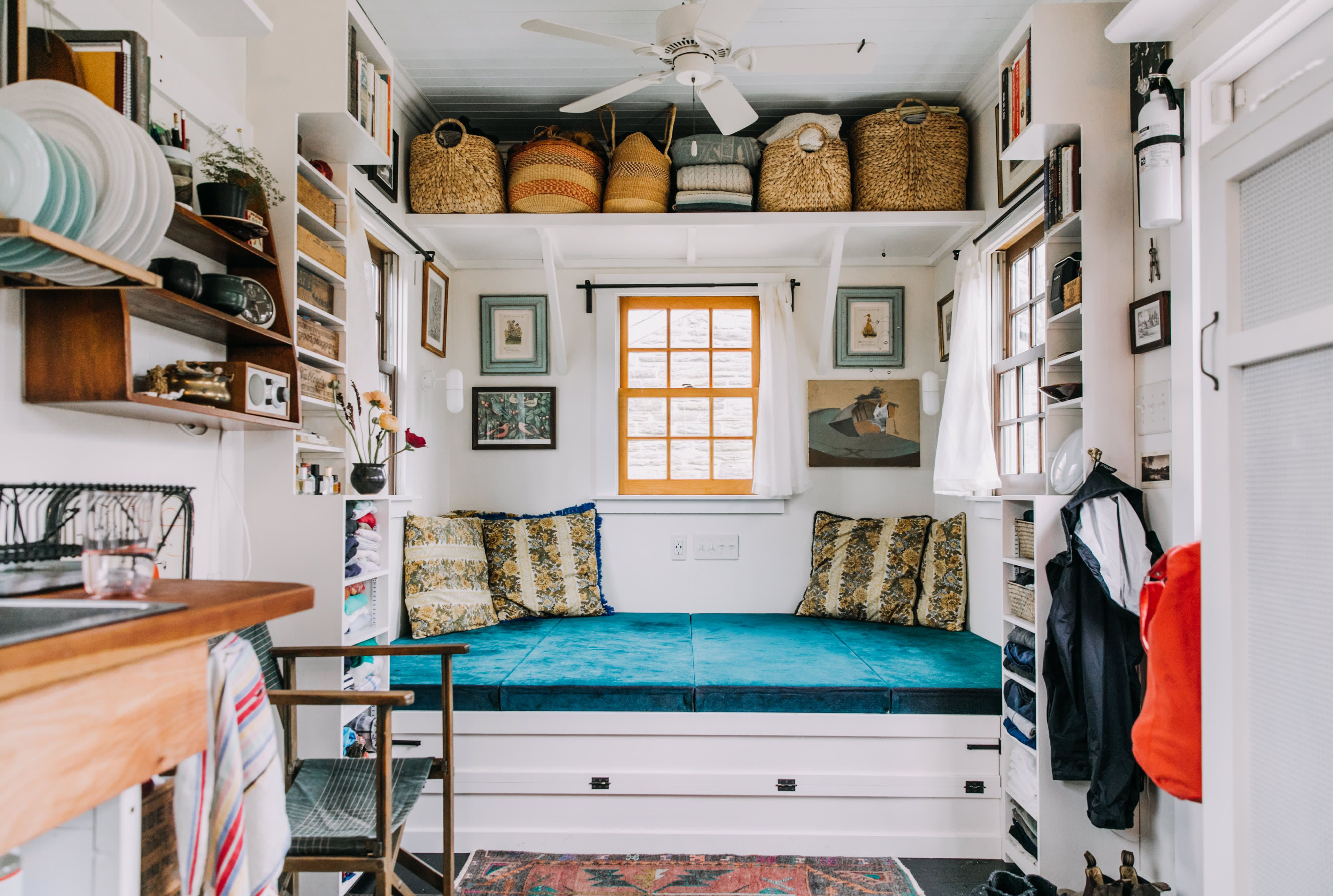 Yes You Can Pull Off Maximalism In Tiny Houses And Small Spaces