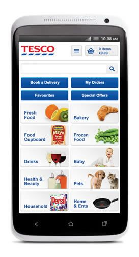 Tesco App Mobile Google Search Iphone Apps Baby Health App