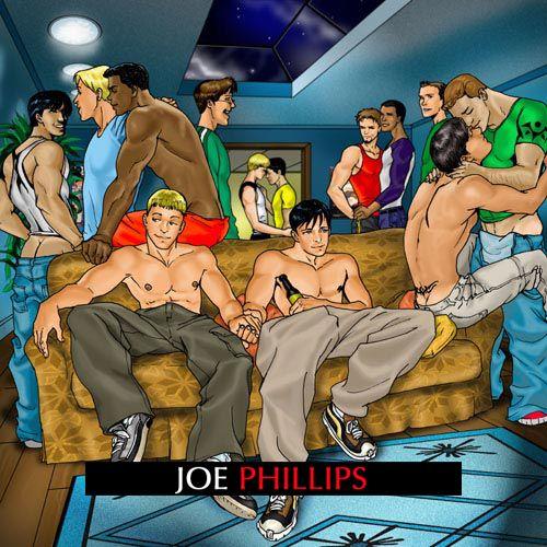 Gay cartoons joe