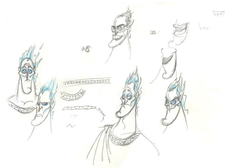 Character Designs from Hercules by Nik Ranieri