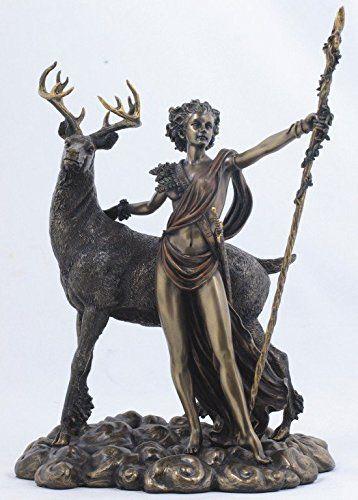 10.25 Inch Greek Goddess Diana Artemis and Moon Statue Fi... https://www.amazon.com/dp/B0028OVGZE/ref=cm_sw_r_pi_dp_9q5Nxb5FNNMEQ
