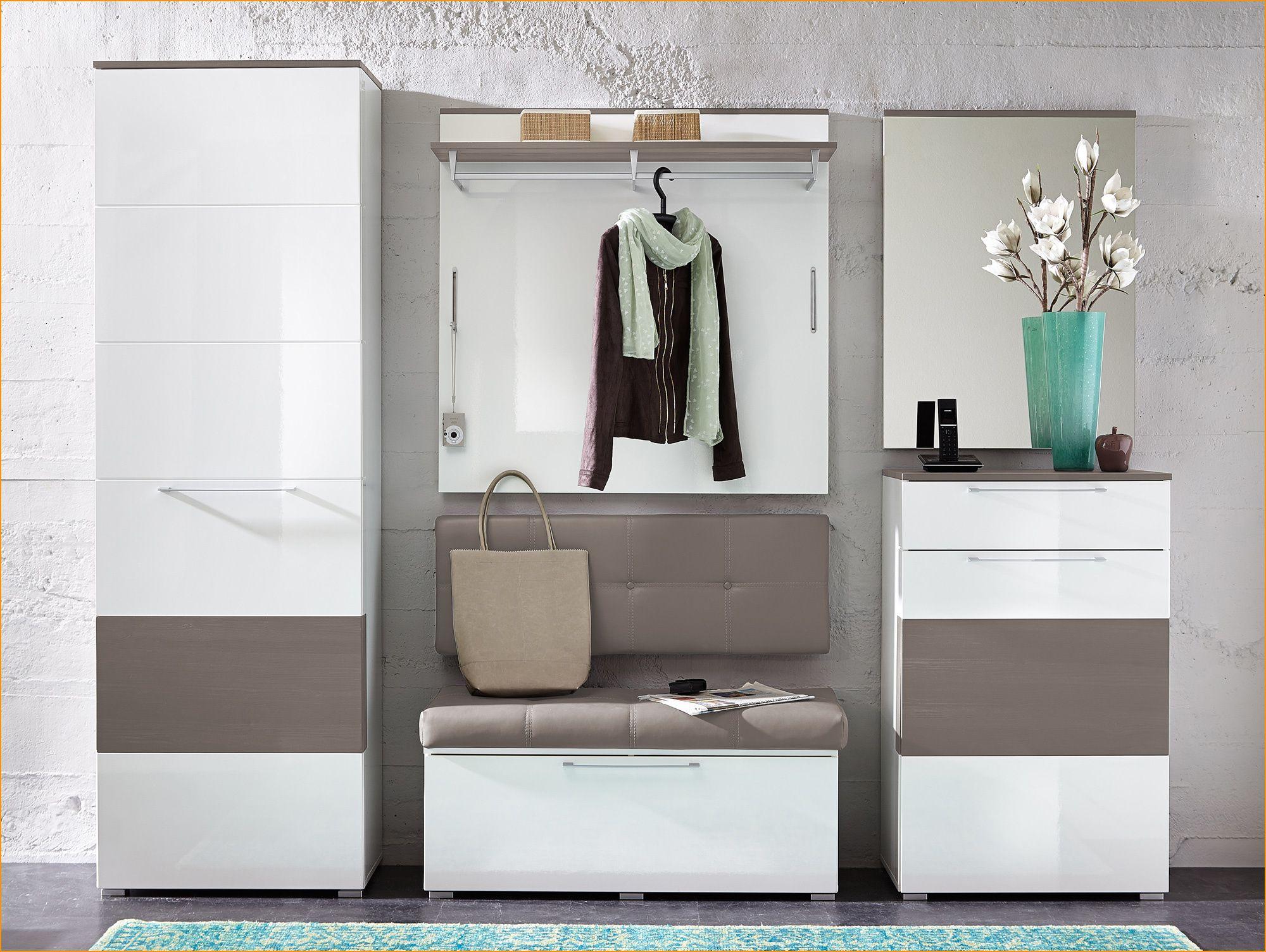 Rene Garderobenpaneel Weiss Hochglanz In 2020 Furniture Shoe