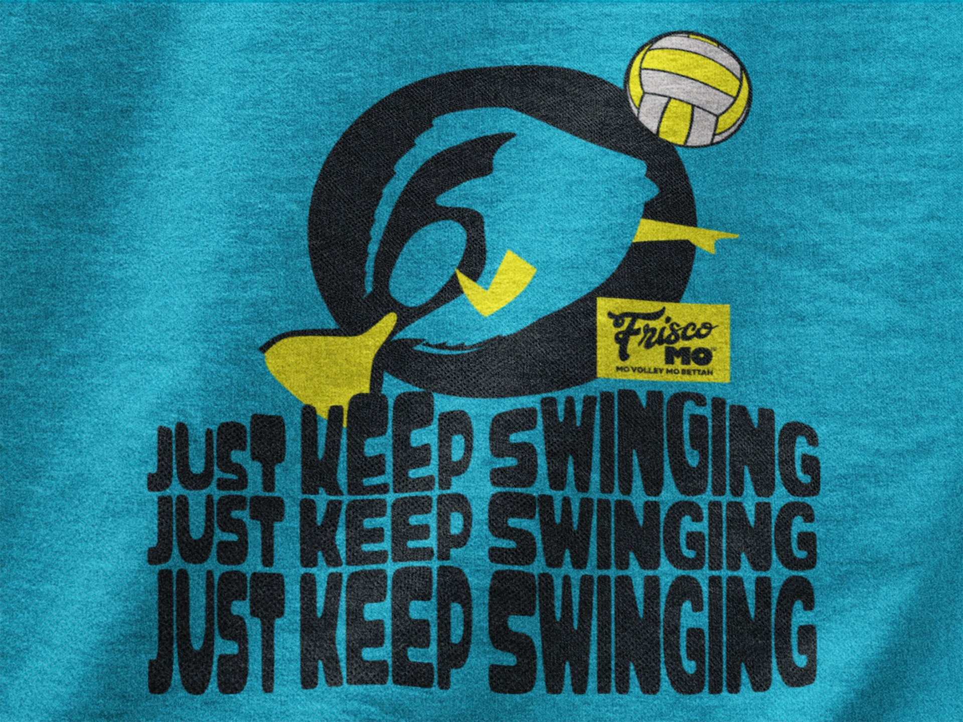 Outside Right Side And Middle Hitters Listen Volleyball Players Swing And Swing And Swing Some More Find This S Volleyball Outfits Volleyball Gifts Frisco