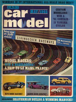 Car Model May 1965 Vintage Slot Car Racing Magazine