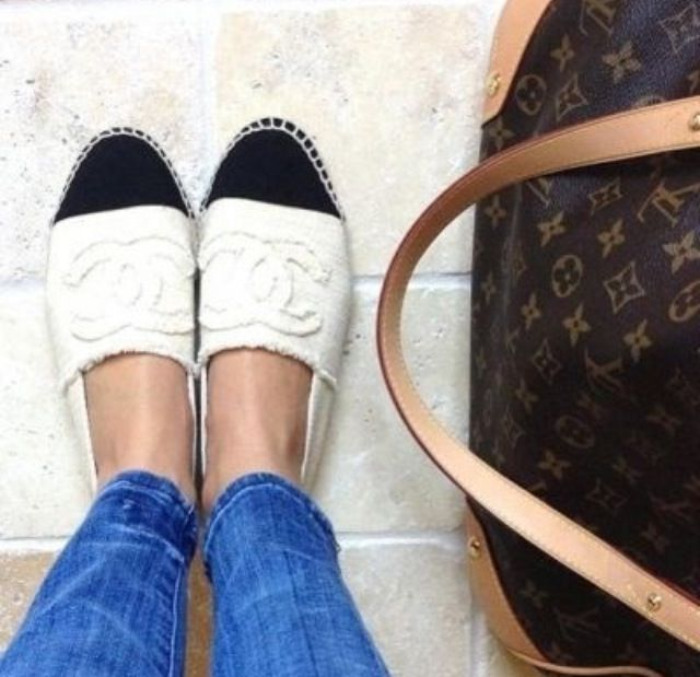 04eb095c9a Louis Vuitton. must have these Chanel espadrilles - saw these at the store  in chicago - even better in person!