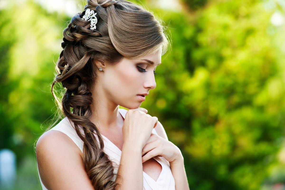 тех фото красивые свадебные прически сип панелей перед