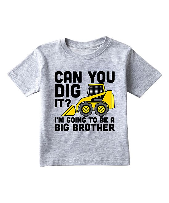 Athletic Heather 'Can You Dig It' Tee - Toddler & Boys