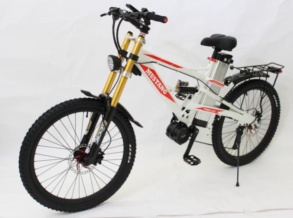 Cool E Motorcycle Style Mustang Mountain E Bike 48v 1000w E Bike