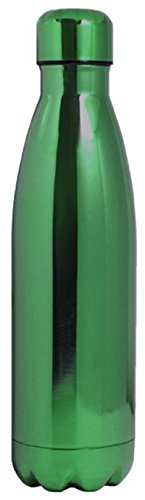 ede9a22c7fb Wellness Insulated Electroplated Finish Double Wall Vacuum Sealed Stainless  Steel Water Bottle 25 oz Green   Read more at the image link.