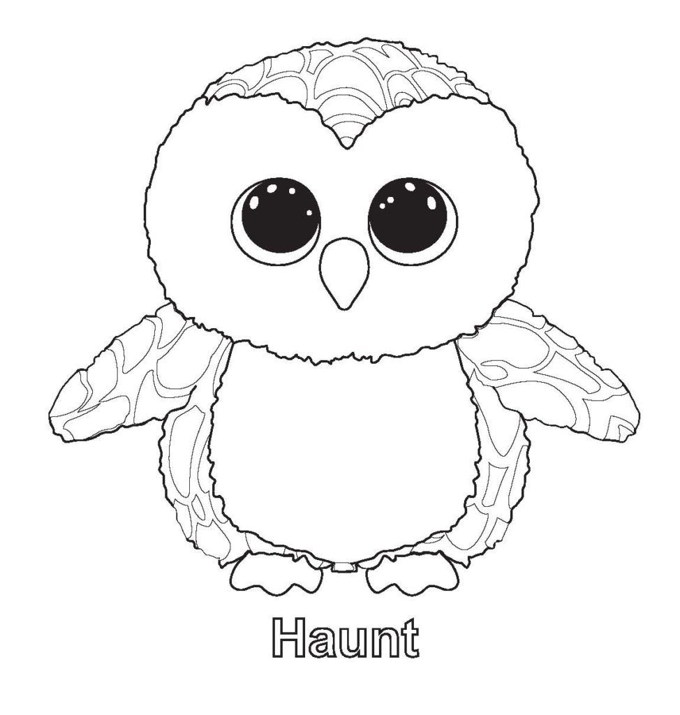 Beanie Boo Coloring Pages Beanie boo birthdays, Pictures