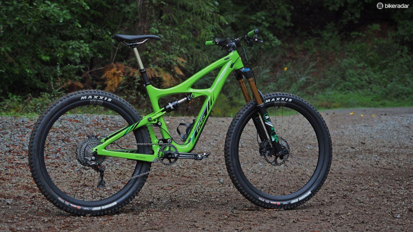 Ibis Mojo Hd3 Lean Green Enduro Racin Machine Review Ibis