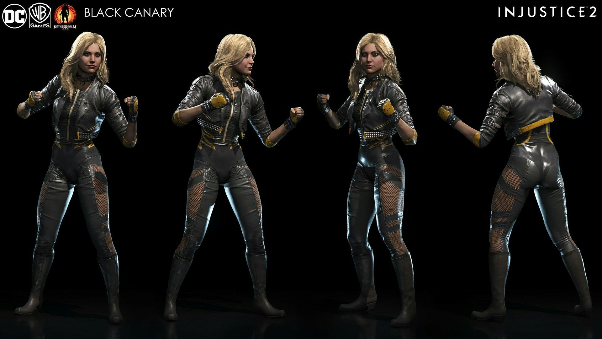Hydraballista — Black Canary sketch. Love this costume, she... |Injustice Black Canary Drawing