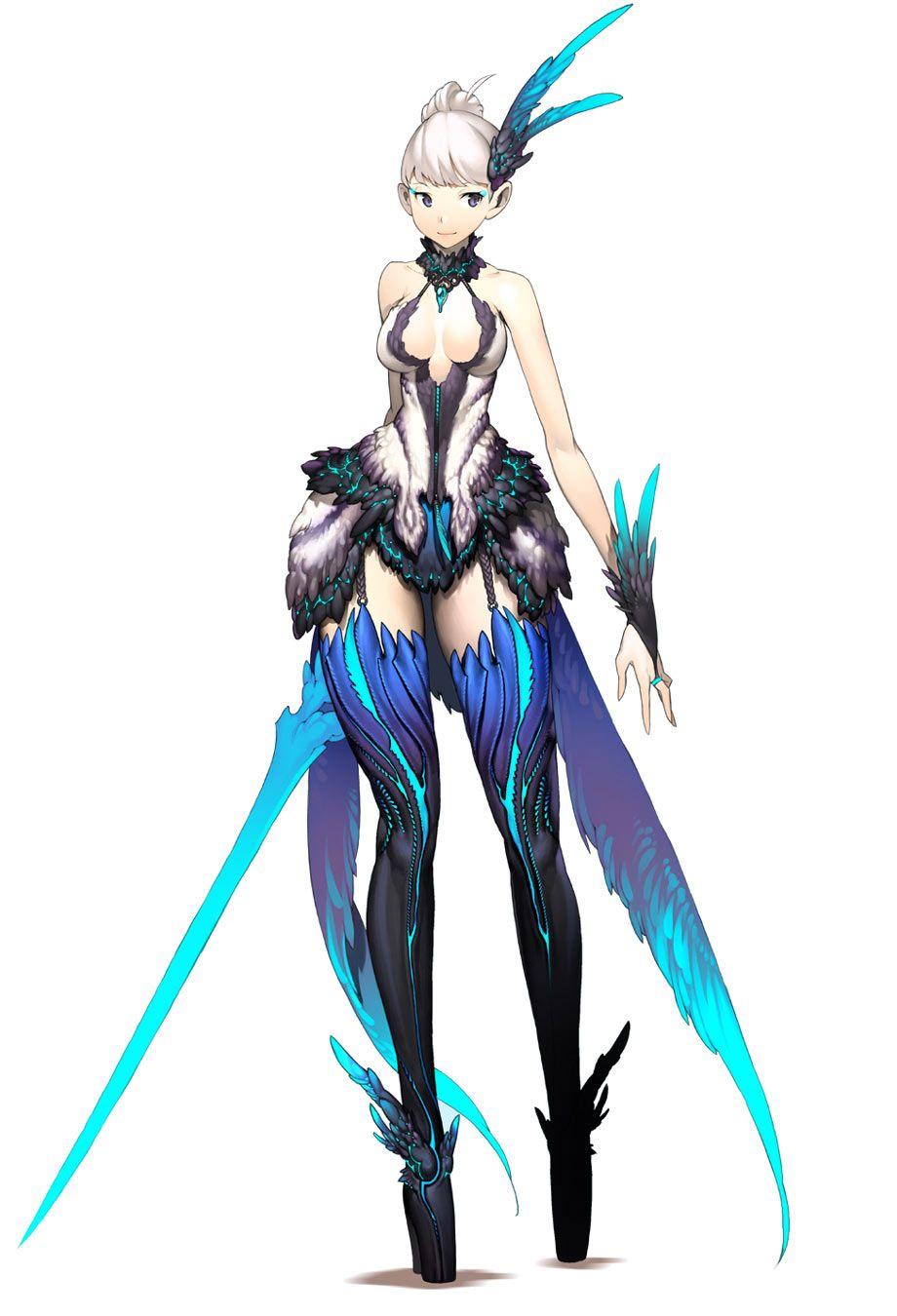 Game Anime Character Design Book : Blade soul female design video games pinterest