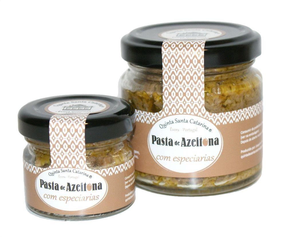Pasta de Azeitona com Especiarias