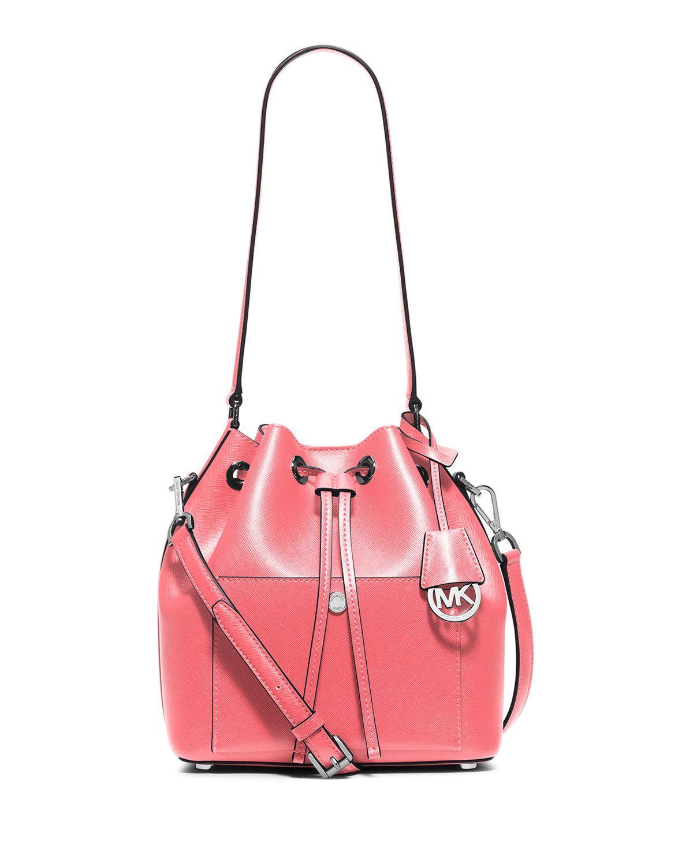9db6b95159e3 MICHAEL Michael Kors Greenwich Medium Bucket Bag