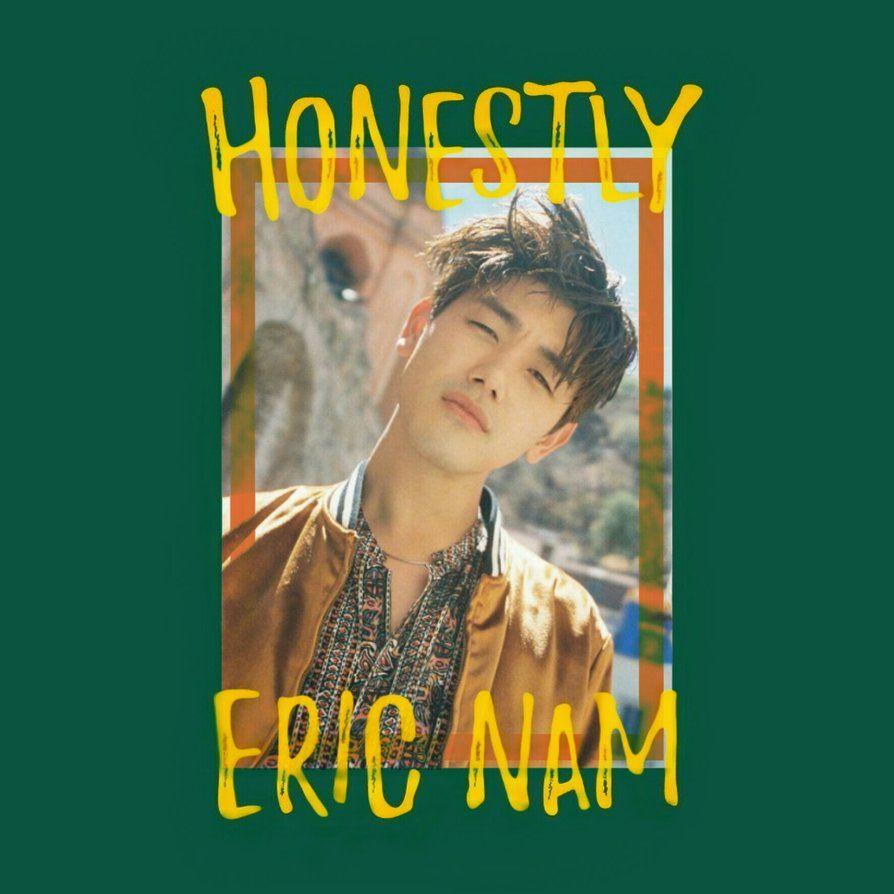 ERIC NAM HONESTLY album cover #2 by LeaKpAlbum | Eric Nam in