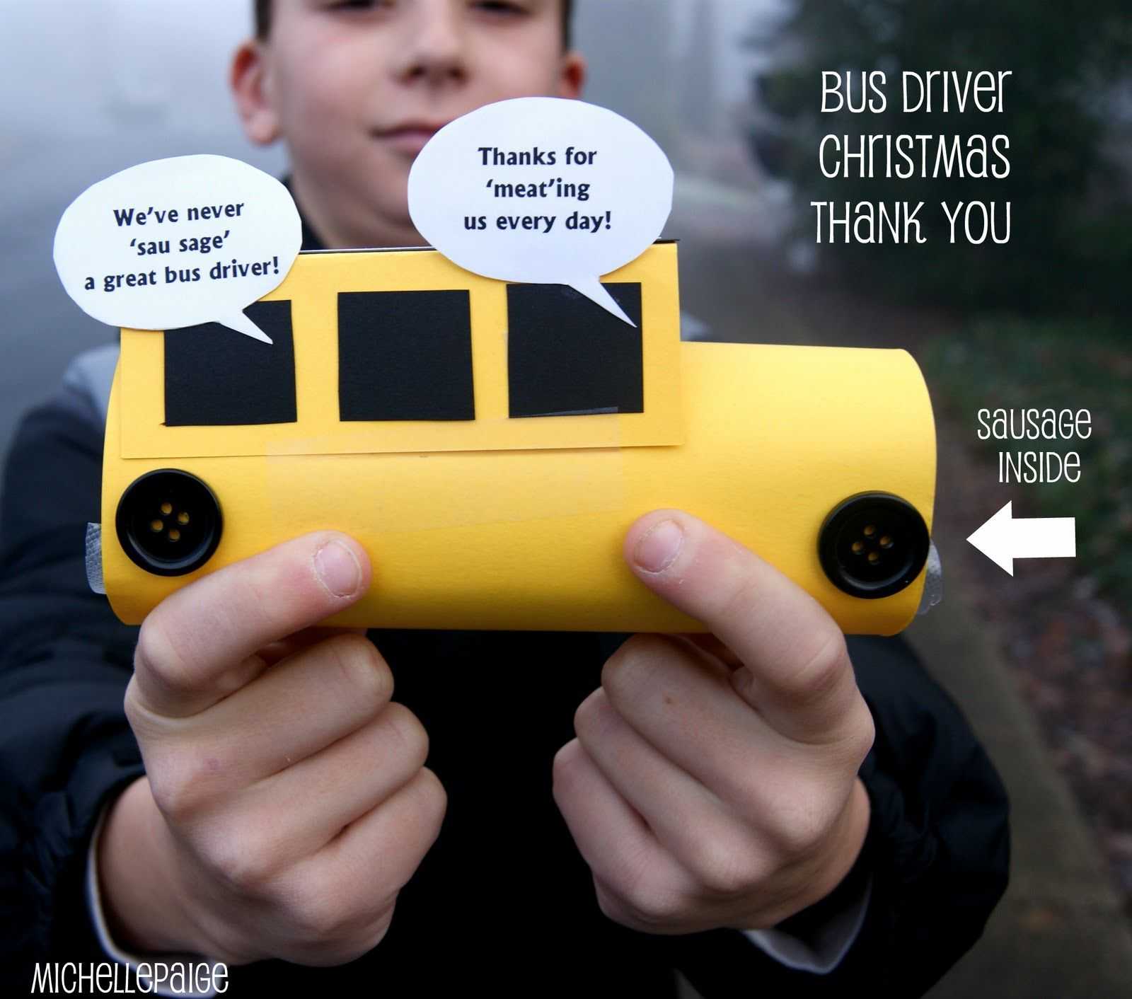 Michelle paige bus driver christmas gift christmas pinterest michelle paige bus driver christmas gift solutioingenieria Image collections