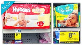 Huggies and Pampers, as Low as $4.99 at Rite Aid!