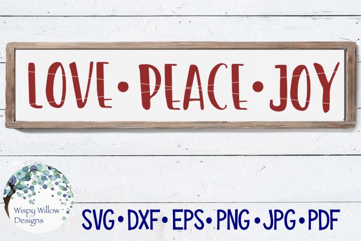 Download Love Peace Joy Christmas Wood Sign Svg 140619 Svgs Design Bundles Peace And Love Christmas Signs Wood Svg