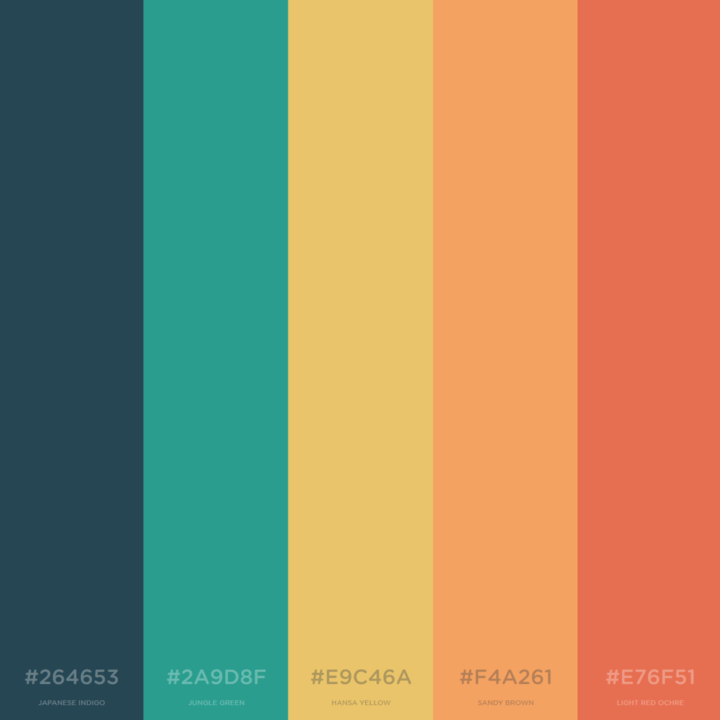 Color Schemes For Living Rooms With Grey Couch: Today's Color Scheme. Japanese Indigo. Jungle Green. Hansa