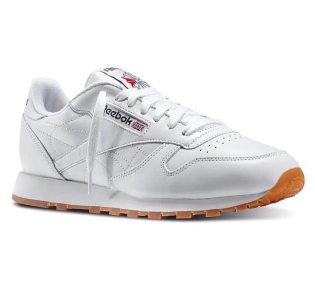 Reebok Classic Leather Gum Casual Sneakers
