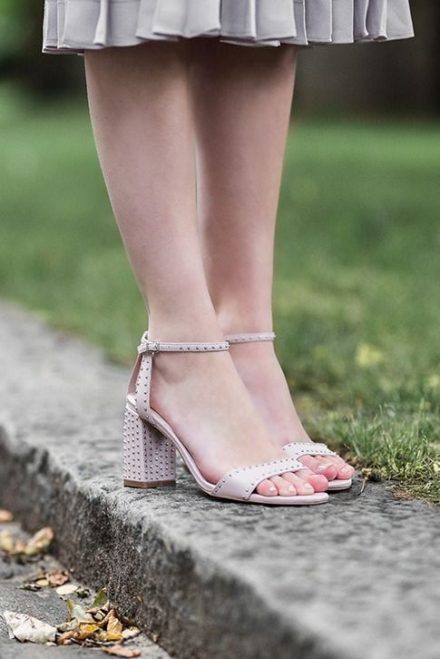 9756c39d4bbe Introducing Gogo by Carvela Kurt Geiger. A stylish sandal studded with  punk-inspired rivets