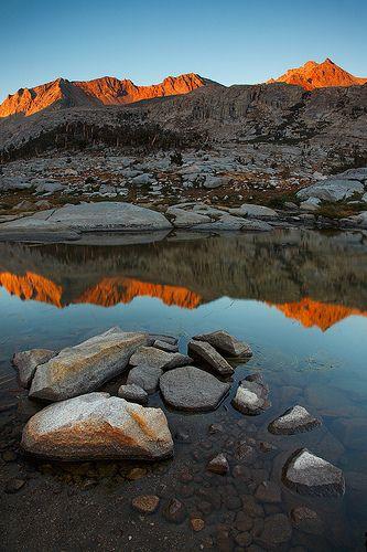 Nine Lakes Sunset