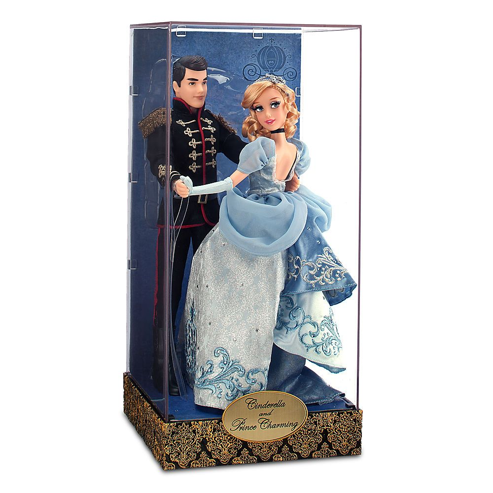 3 - Designer Cinderella and Prince Charming