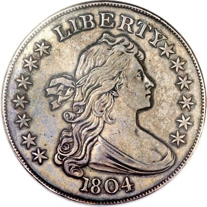 1804 Silver Dollar Makes 3 8m At Heritage Auctions Old Coins Rare Coins Coin Collecting