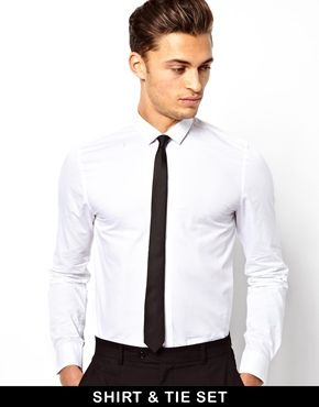 b997188266d2a ASOS Smart Shirt And Tie Set SAVE 15%