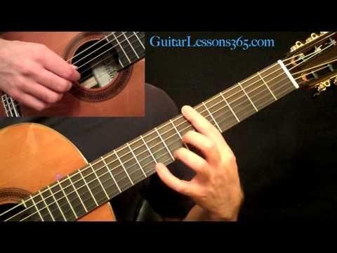 Romance Acoustic Fingerstyle Guitar Lesson Pt 1 Romanza Basic Guitar Lessons Fingerstyle Guitar Lessons Guitar Lessons