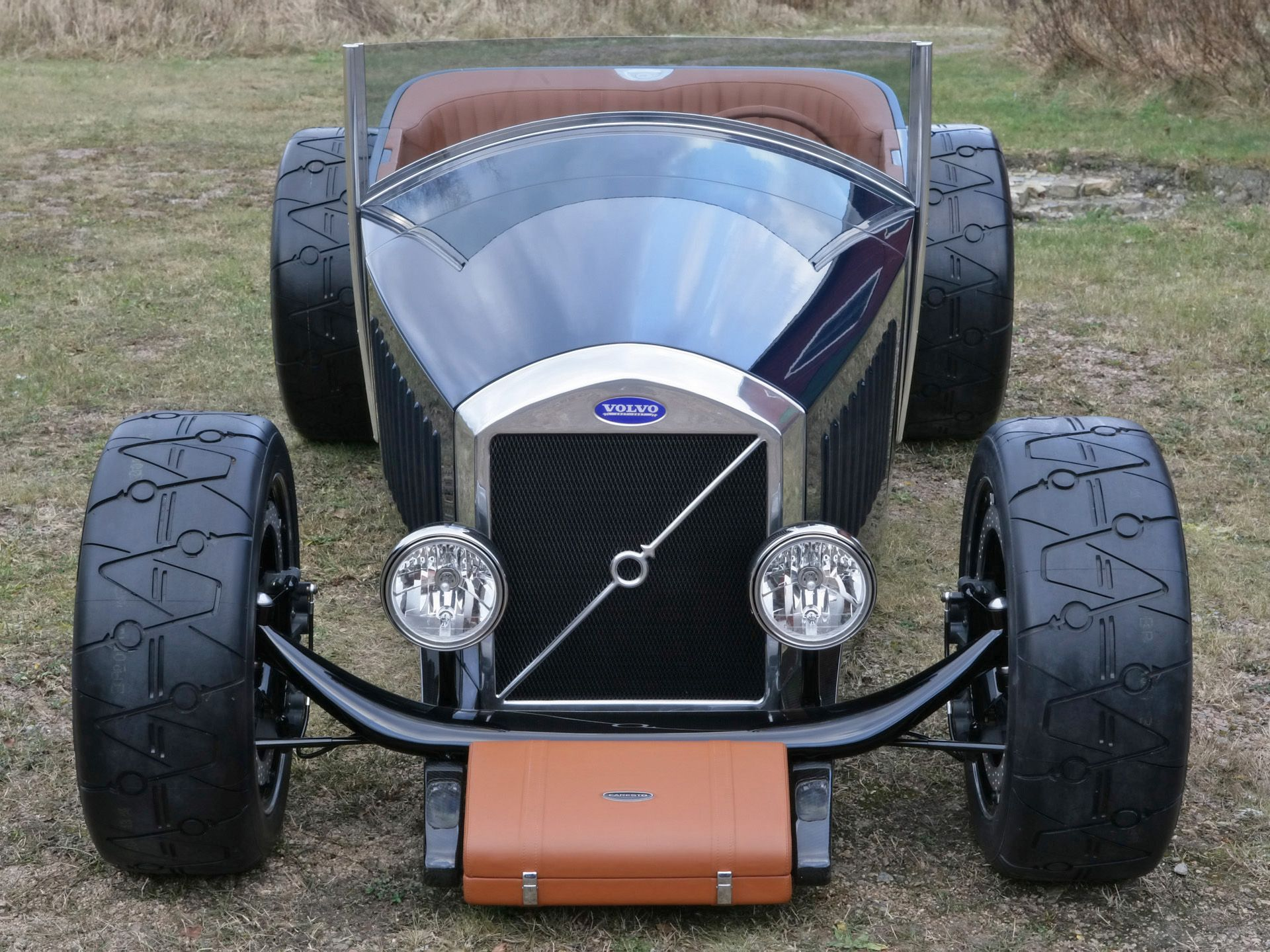 Who knew a Volvo could make such a great hot rod More of a retro
