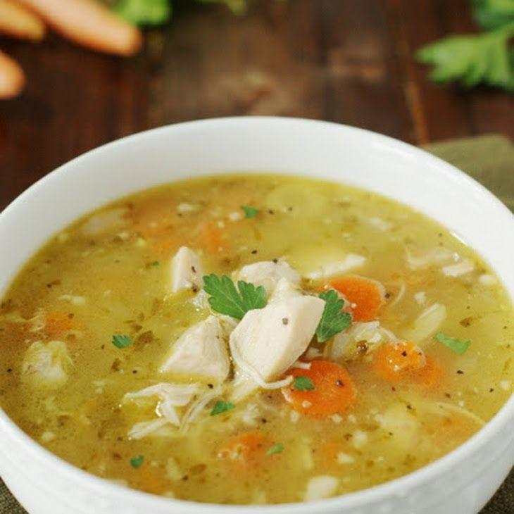 Leftover) Rotisserie Chicken Soup (Printable