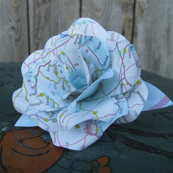 Wedding Gift Table Ideas: Paper Flower, Weddings, Table Decorations
