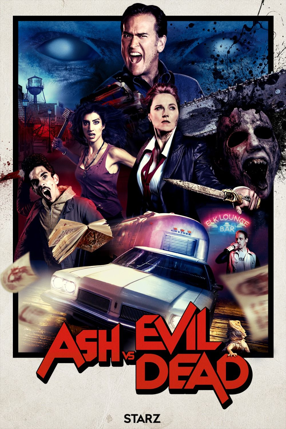 Ash Vs Evil Dead Season 2 Red Band Trailer And Poster Evil Dead Movies Ash Evil Dead Newest Horror Movies
