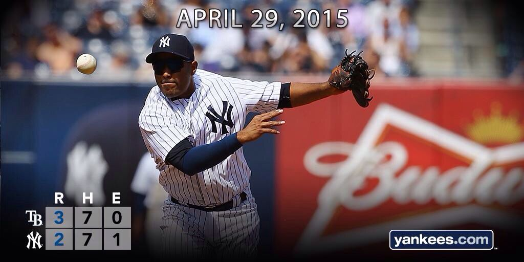 Yankees Lose In 13 Innings To The Tampa Bay Rays In The Bronx Pinstripepride Tampa Bay Rays Yankees Tampa Bay