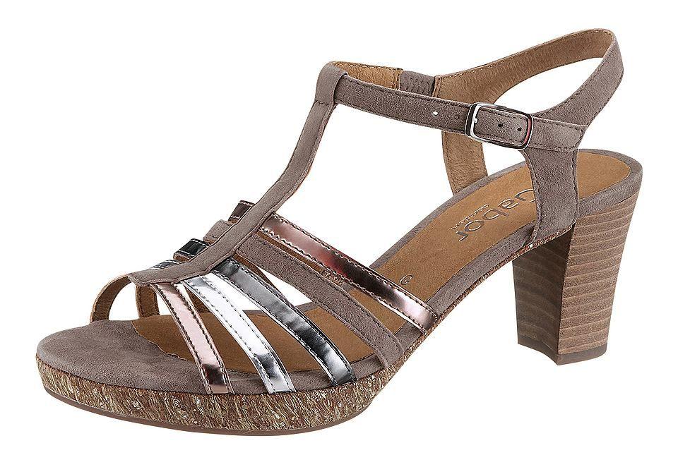 Sandalette, Gabor. Herrlich feminine Sandalette von Gabor mit ...