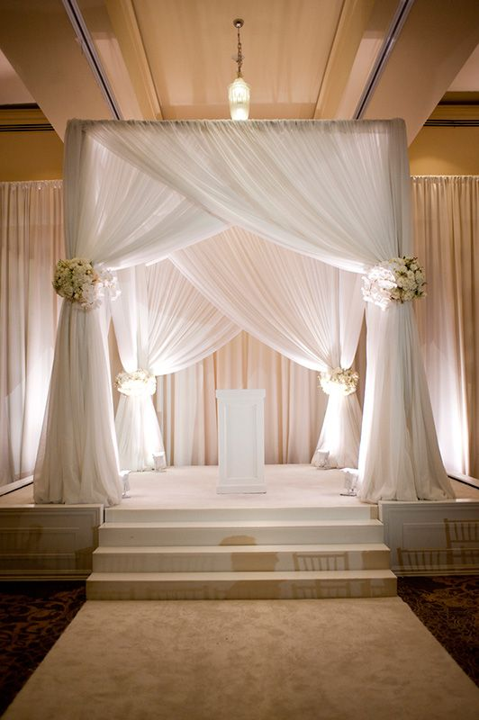 Show Me Your Wedding Arch Chuppah Ceremony Backdrop