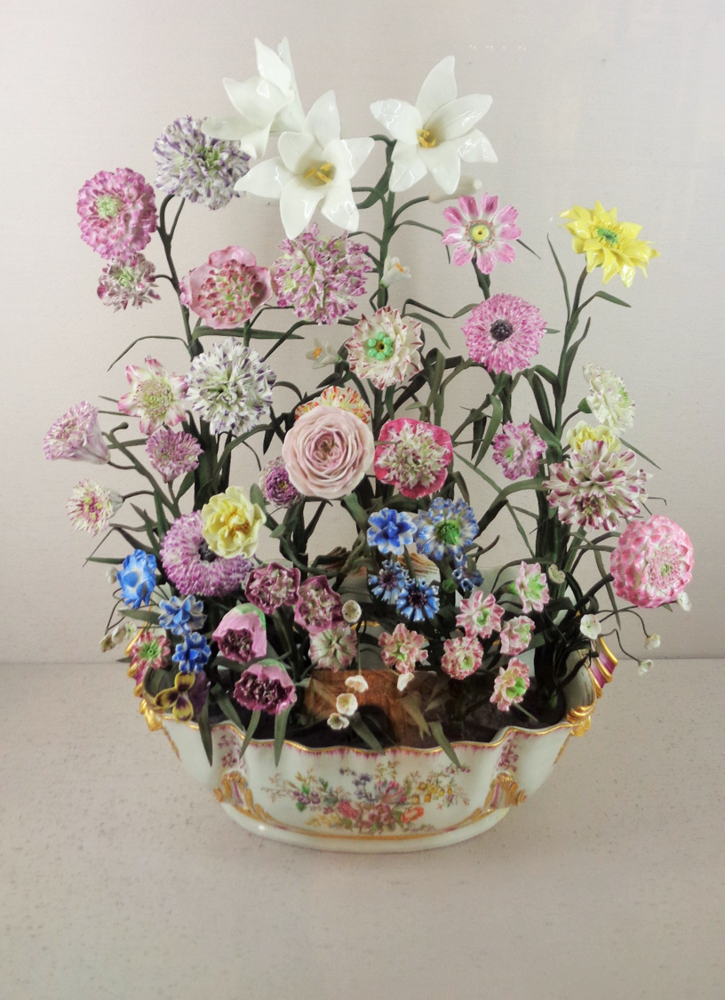 Beautiful Porcelain Flowers From Sevres Porcelain Flowers Glass Flowers Ceramic Flowers
