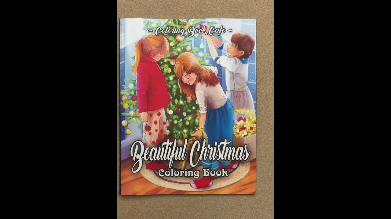 Christmas Stained Glass Coloring Usborne