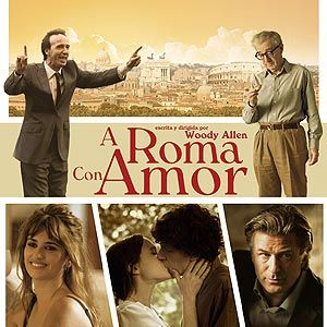A Roma con amor @ Carballiño cinema audiovisual cineclube woody allen