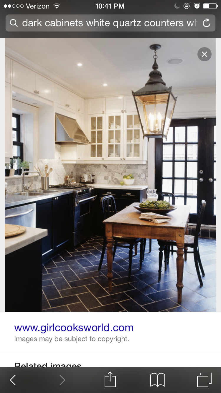 Explore French Bistro Kitchen, Dark Tile Floors, and more!