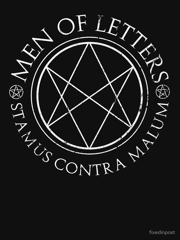 Supernatural Men of Letters Dark' Essential T Shirt by