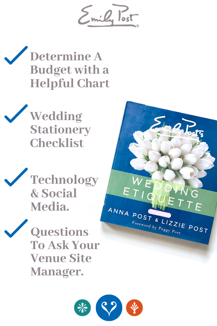 The Emily Post Wedding Etiquette Bible Does Not Just Have Bride Tested Mother Approved Advice Bu In 2020 Wedding Etiquette Wedding Stationery Checklist Post Wedding