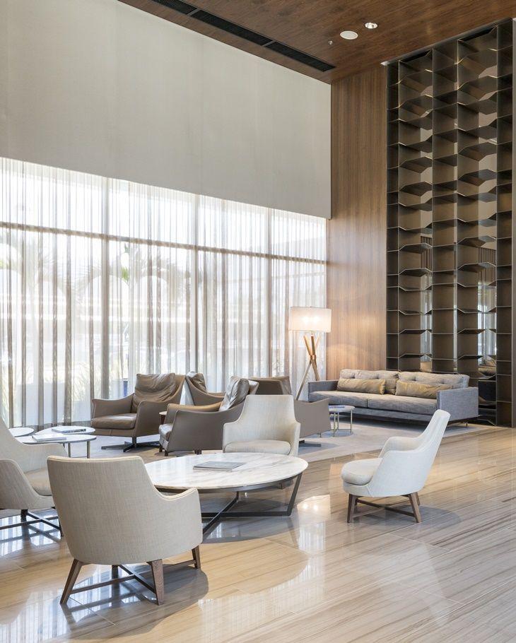 Incroyable Hotel Hilton Barra Lobby Lounge, Hotel Lounge, Lobby Interior, Interior  Design, Hotel