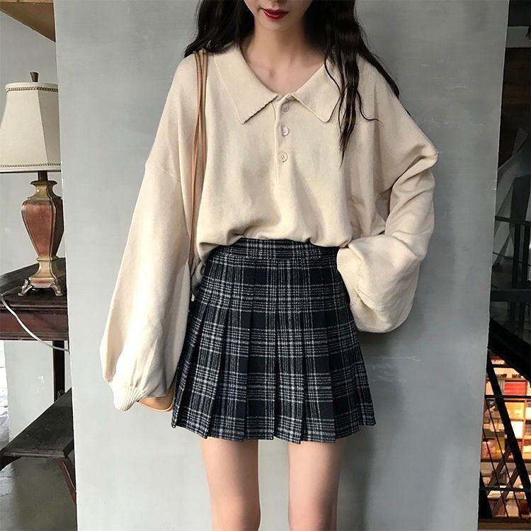 Girls Classic Outfit Idea Stylish Fall 2021 Cute Korean Shopping Instagram School Korean Fashion Korean Outfits Fashion