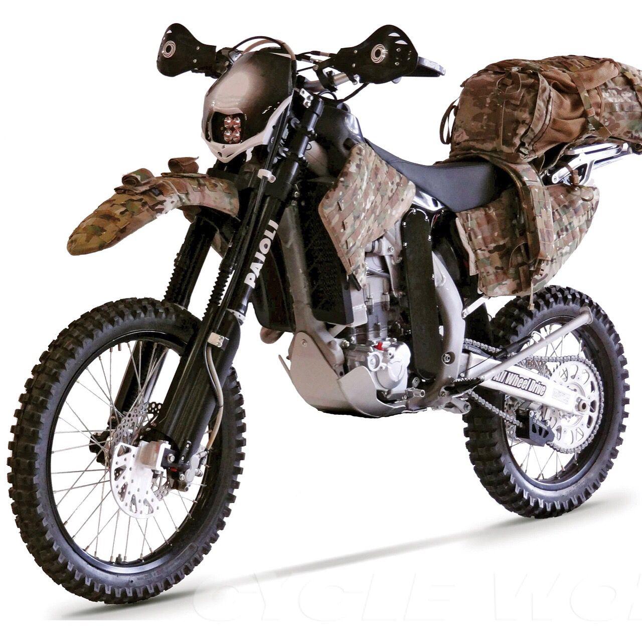 CHRISTINI AWD 450 Explorer Motorcycle, Dirtbikes