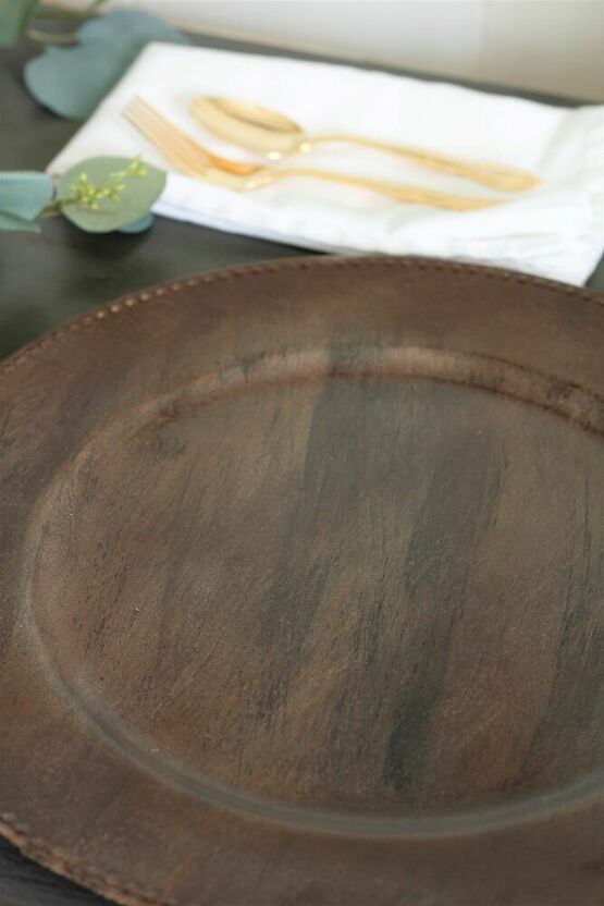 How To Make Diy Wood Grain Plate Chargers How To Make